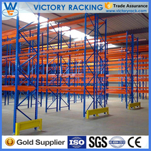 Blue and Orange Pallet Racking!High Density Stacking Pallet Rack Load Capacity