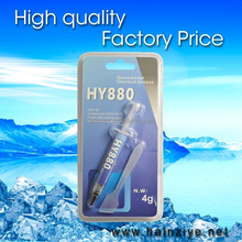 Best quality Nano HY880-TU4g blister package thermal grease & paste for cpu heatsink/led with good cooling