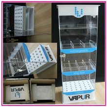 Locking Acrylic Plastic Cigarette E-Juice Display Case