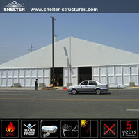 Storage Shelter Tent Movable Semi Permanent or Permanent