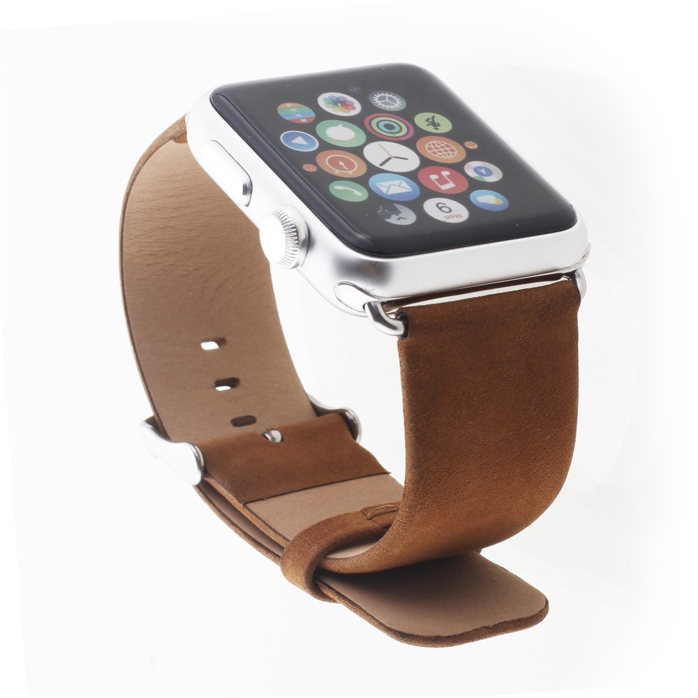 wholesale New Real Leather watch band for apple watch band 42mm 38mm