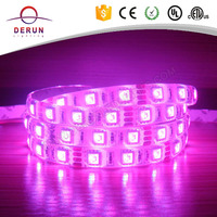 Hot Selling SMD 5050 RGB waterproof 12v strip led grow light