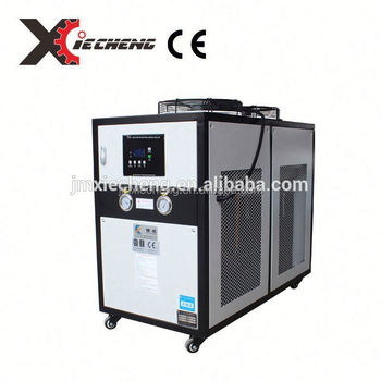 industrial air cooled chiller for Bottle Blow