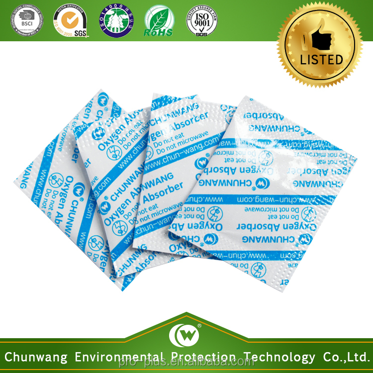 Food Grade 50CC Oxygen Absorber For Dehydrated Vegetable