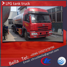 25-35cbm FAW LPG truck tankers , LPG trucks for sale