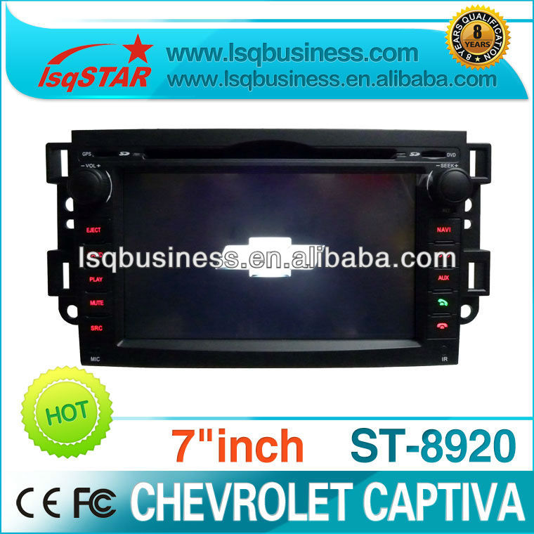 audio dvd player for car Chevrolet captiva with car MP3 player GPS Bluetooth 12.1 inch car headrest mount portable dvd player
