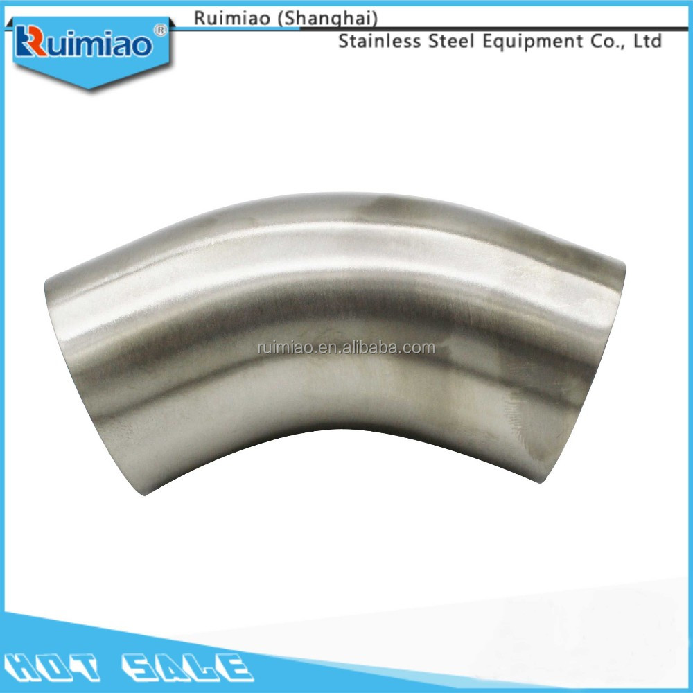 22.5 degree 4 inch sanitary stainless steel elbow pipe fittings