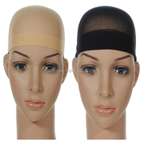 Net Wig Cap Breathable Stretchable Nylon Adjustable Stretch Stocking Cap Nude Beige Black SA031