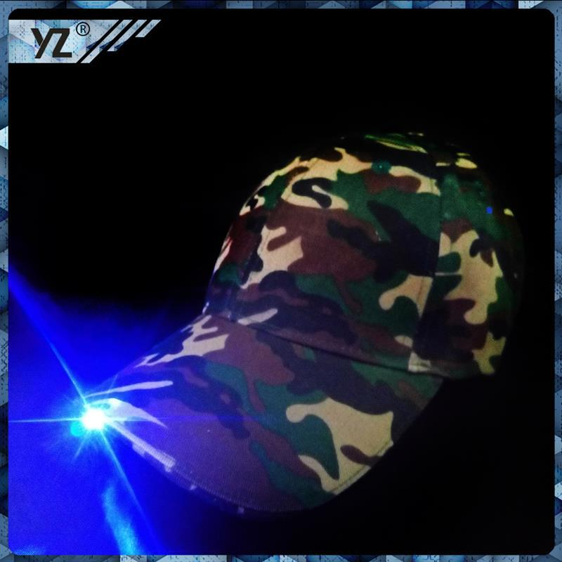 China manufacture cap/hat classics custom flashing LED light hat Fashion hats suppliers
