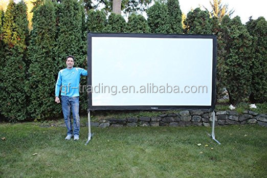Portable Screen projector fast fold screen outdoor movie screen