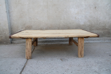 vintage reclaimed wooden furniture square coffee table living room pine wood side table