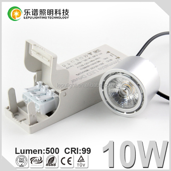 CCT Dimming sunset 8w/10w dimmable cri88/cri99 led spotlight lamp for high-end lighting decoration