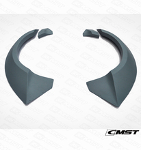 CMST STYLE FIBER GLASS REAR CAR REAR WHEEL ARCHES TRIMS FOR FORD MUSTANG