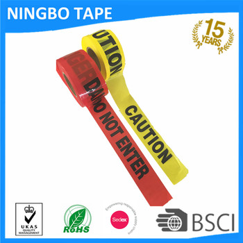 offer printing caution HDPE warning tape