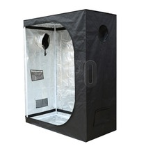 "48""x24""x60"" Factory Direct Supply Indoor Hydroponics Highly Reflective Fabric 600D Mylar Plant Grow Tent"