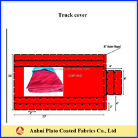 Heavy Duty PVC Trailer Cover Or