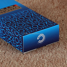 Custom cosmetic folding gift perfume paper packaging box,hot stamping cosmetic box packaging from Shenzhen