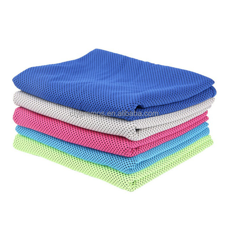 New Promotional Summer Chill Neck Coolers Outdoor Sports PVA Magic Quick Dry Instant Ice Cooling Cool Towel