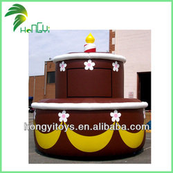 Best Price Inflatable Decoration Chocolate Cake