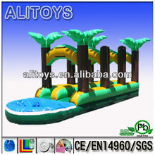 forest beautiful and giant used Inflatable water slide, Inflatable bouncer slide for sale with high quality