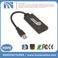 USB 3.0 To HDMI HD 1080P Video Cable Adapter Converter For PC Laptop win7 win8