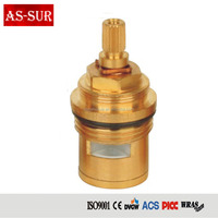 fast open brass spindle tap ceramic disc cartridge