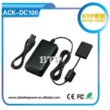 ACK-DC100 ac adapter case for canon digital camera made in china
