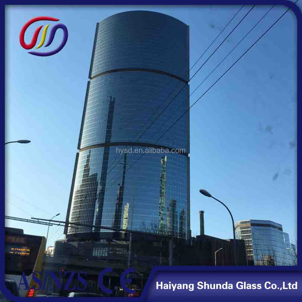 Beijing Haiyangshunda glass for windows and doors/glass facades prices/tempered glass