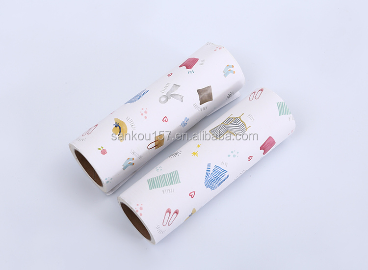 OEM/ODM new design cylinder shaped cleaning release paper silicone lint roller