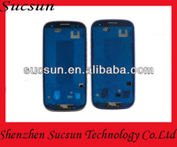 Wholesale front housing replacement frame for samsung galaxy s3 i9300 paypal is accepted