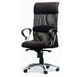 OC-55 High Back Reception Chair Fabric Mesh Chair Office Swivel Chair