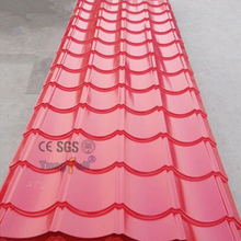 Building Material Colorful Zinc Coated Steel Roofing Tile