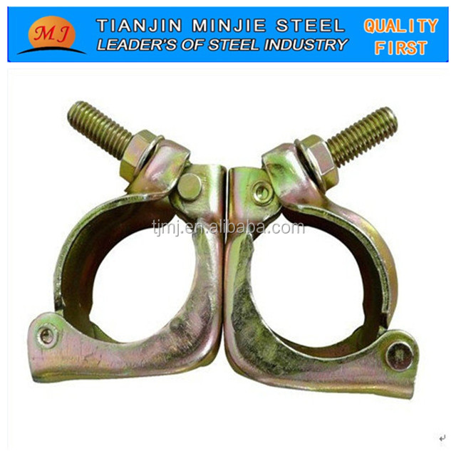 scaffolding pressed/drop forged swivel/double/fixed coupler/fitting/clamp