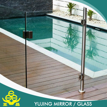 high end new products tempered glass cost per square foot for doors and windows
