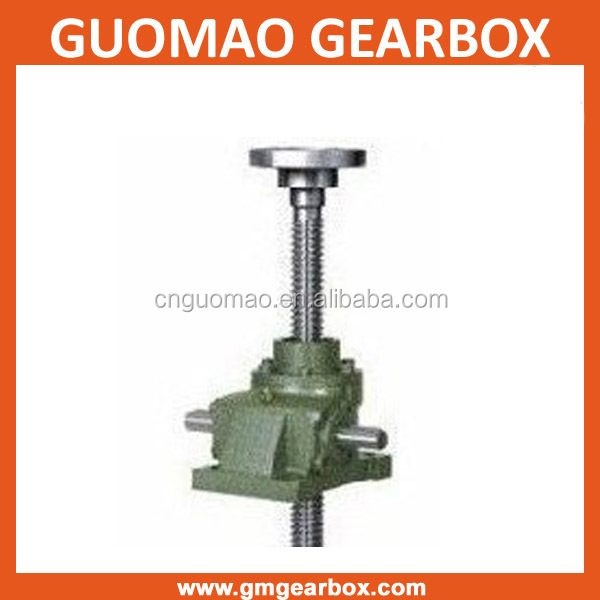 Manual and electric worm gear house screw jacks