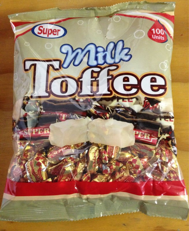 Milk toffee Candy