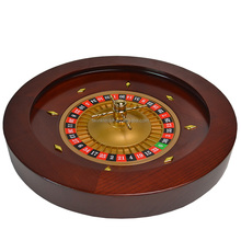 Factory Price High Quality Casino Gambling table solid wood Roulette wheel