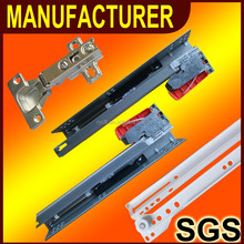 soft closing mini ball bearing drawer slides