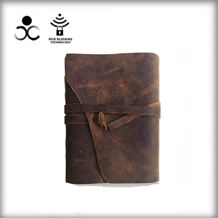 Passport Traveler's Notebook Pocket Can Add Leather Diary - Little Retro Leather Handbook, Travel Diary