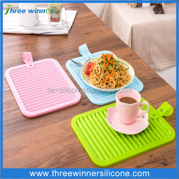 beautiful design silicone kitchen sink/table mat