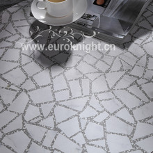 Puzzle Tile Terrazzo Ceramic Hotel Lobby Floor Tile Matte and Polish Finishing