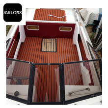 Melors Non-skid EVA Foam Faux Teak Sheet Boat Yacht Synthetic Teak Decking Marine Flooring