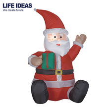 China Factory Christmas Decorating Santa Claus Airblown Inflatable