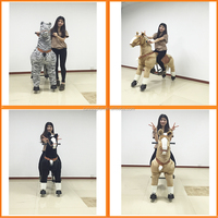 Hot sale CE horses toys,wooden rocking chairs for adults,horse racing toy