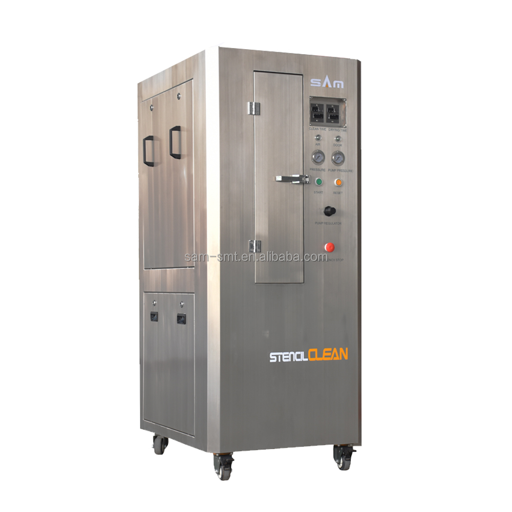 SM-8100 SMT stencil cleaner (stainless steel cabinet )