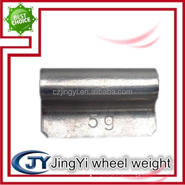 Fe Wheel weights with hook for steel and alloy rims