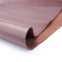 Fabric supplier PU coated for sofa with embossing surface