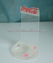 custom advertising acrylic soft drink display with high quality