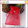 Wholesale Customized Fashion China Suppliers Cheap organza sweater wine gift bags with butterfly