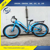 48v Bafang 500w motor electric bike big tires with assit fat tire electric beach cruiser